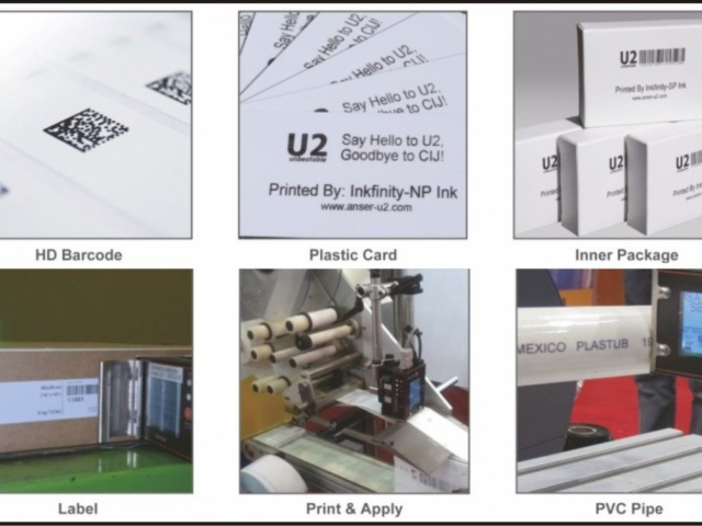 Impresión Versátil - Tintas y Códigos de Barra